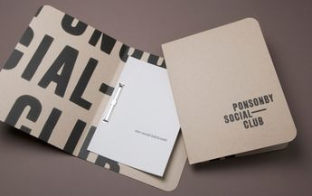 Another Strategy - design and advertising company branding project.  this one is for Ponsonby Social Club Bar in Auckland.  they describe this as anti-design.