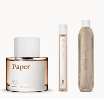 """Commodity Goods perfumes--they send you 10 samples to try at home. """"Paper"""" sounds intriguing to me. $24 for samples plus a mini perfume of the scent of your choice."""