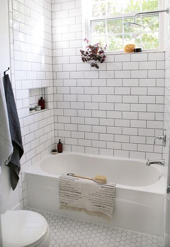 Beautiful Farmhouse Bathroom Remodel from Small Closet