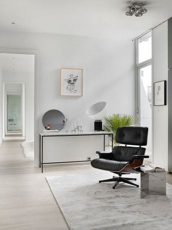Living Room : Beautiful home in Olso  via Coco Lapine Design blog
