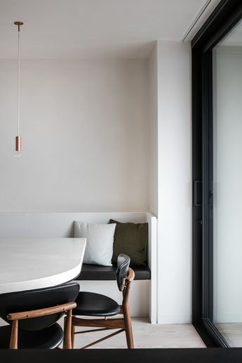 Minimalist Apartment in Ghent by Frederic Kielemoes