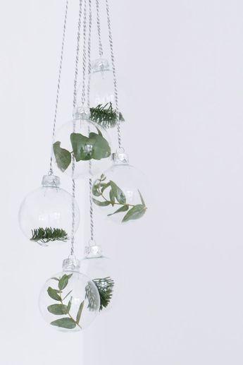 Inspiratie: botanische kerstversiering
