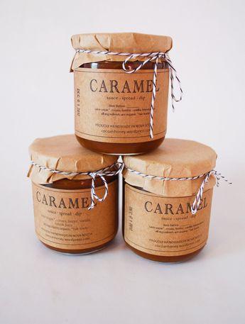 Caramel jar   jebiga   #caramel #vintage #packaging #creative #design #jebiga