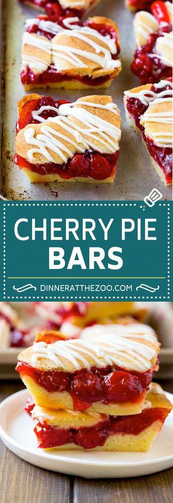 Cherry Bars Recipe   Cherry Pie Bars   Cherry Cookies   Bar Cookies #cookies #bars #cherry #baking #dessert #sweets #dinneratthezoo