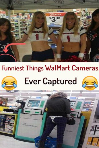 Funniest Things WalMart Cameras Ever Captured!