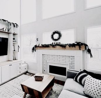 60 Simple Christmas Living Room Decorations Ideas