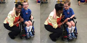Home Depot Worker Shocks Mom When She Helps Build Special Needs Costume – and Pays For It