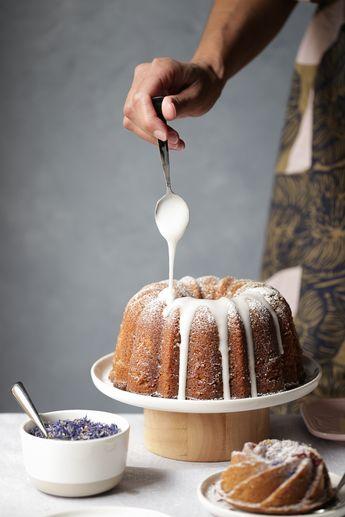 French Earl Grey Bundt Cake
