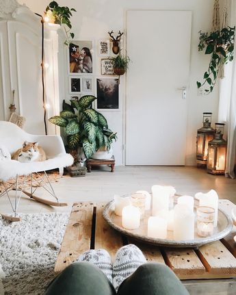 """a 75 m2 White Bohemian Home (@lovedbysheila) on Instagram: """""""" I want to have a weekend adventure, but I kinda want to have it in my pajamas 🙈"""" . Why change…"""""""