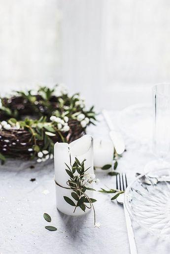 10 understated festive table setting ideas