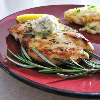 """Rosemary Lemon Grilled Chicken I """"Wonderful recipe! I marinated chicken pieces overnight then cooked on a stovetop grill. Perfect flavors!"""""""