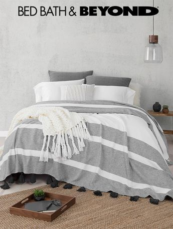 Inspired by the carefree California style, our exclusive UGG® Home Collection bedding brings the comfort of super soft fabrics and craftsmanship UGG® is known for. Update your master bedroom to create a place to escape to and restore, or update any bedroom with natural, calming vibes.