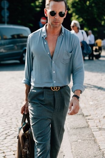 Pitti Uomo's Best-Dressed Men Will Show You How to Dress This Summer