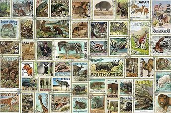 Animal Stamps (3000 Piece Puzzle by Ravensburger)
