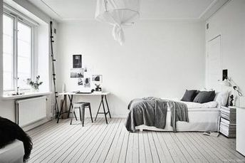 20 Clever Minimalist Apartment Bedroom Decorating Ideas