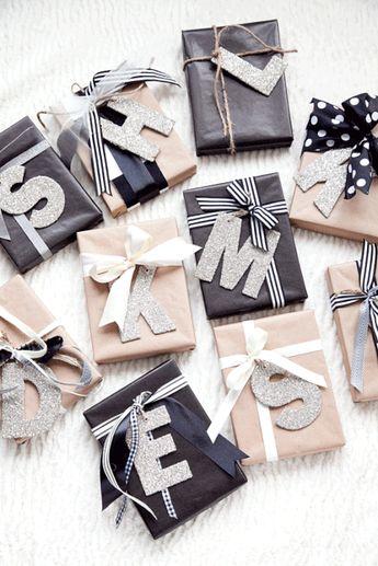 40 Genius Gift Wrap Ideas for Prettier Presents