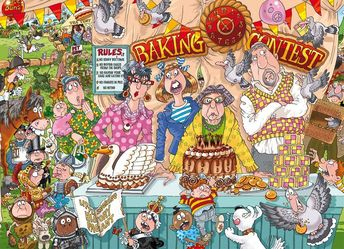 The Bake Off 1000 Piece Puzzle