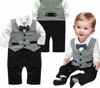 Gentleman Toddler Romper Suit (6-18M)