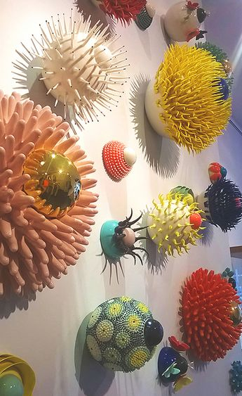 Ceramics by Myung Nam An. Crafted and on display at the Society of Designer Craftsmen Gallery, London. September 2014 #LDF14