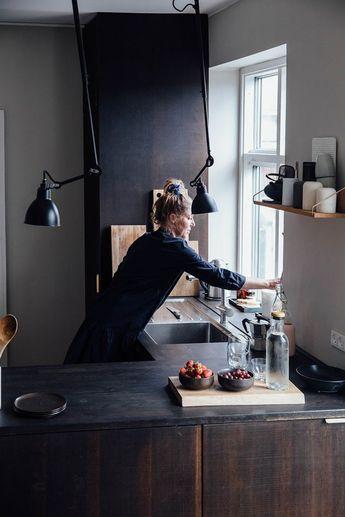 A Charming Copenhagen Loft with Mid-Century Classics