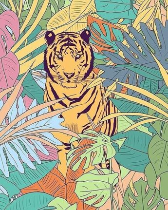 Tiger @fernandaschallen Campo Bom Brazil   ...