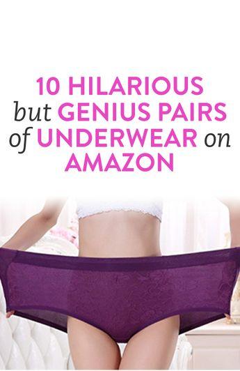 10 Hilarious But Genius Pairs Of Underwear On Amazon