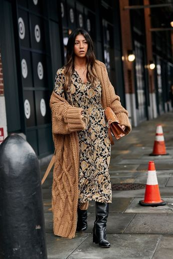 51 Street Style Shots for All The Dress Lovers