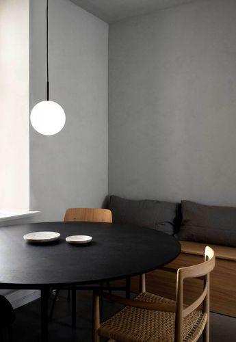 Three minimalist studio spaces