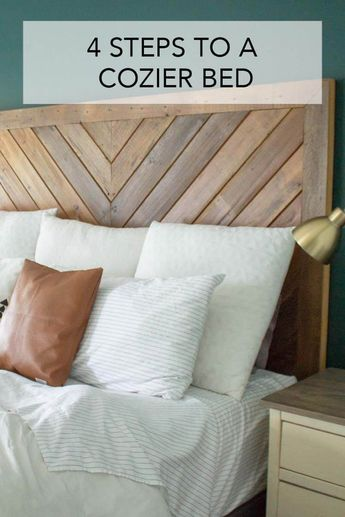 4 Ways to Make Your Bed Cozy
