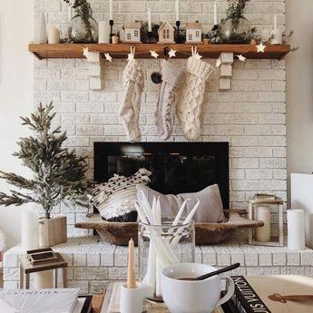 28 White Christmas Decor Ideas