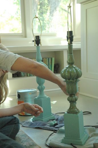 How to Paint Lamps & Other Things That Aren't Working for You