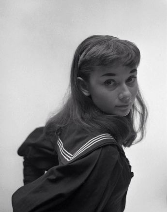 audreyhepburnforever:  Audrey in a publicity shot for 'Gigi' (1952). Photograph by Milton H. Greene.