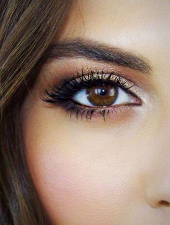 Makeup Ideas: brown eyes...