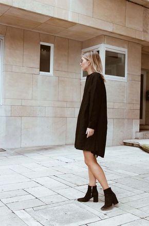 16 Ideas Para Usar Un Little Black Dress En Invierno