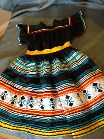 Handmade Seminole Patchwork Girls Dress