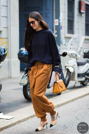 Milan Men's SS 2017 Street Style: Gilda Ambrosio