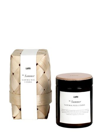 Light your way through the long, dark Finnish nights, with the cozy glow of our naturally scented candle, paired with your favorite woolen socks, as you step in from the deep winter snow storm.