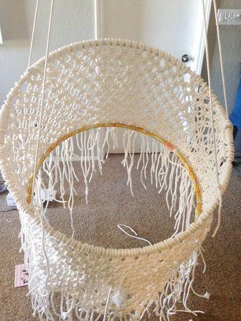 Boho Chic on a Budget: DIY Hanging Macramé Chair