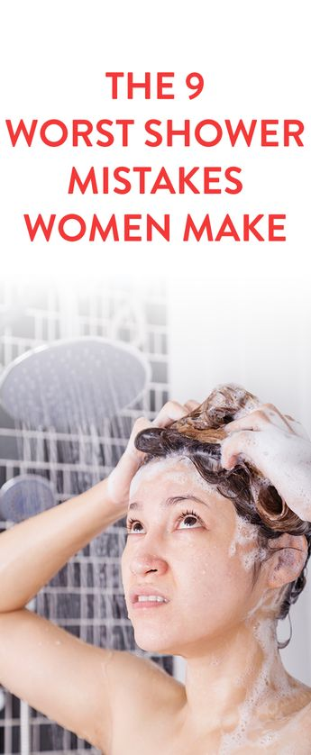 The 9 Worst Shower Mistakes Women Make And How To Fix Them