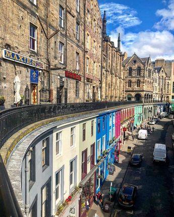 Victoria Terrace, Edinburgh, Scotland