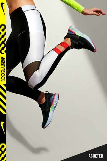 Découvrez la nouvelle Nike Epic React Flyknit 2, ultra-souple et dynamique.