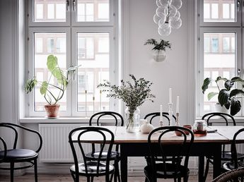 A serene Swedish home in soft, muted tones