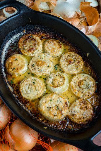 Asiago Roasted Onions