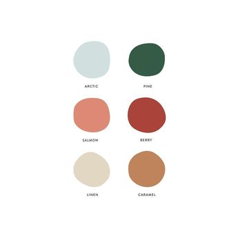 Today's palette - a little holiday, a little late summer🌲