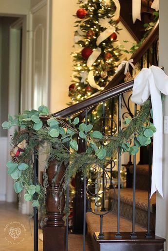 Eucalyptus Garland for Christmas
