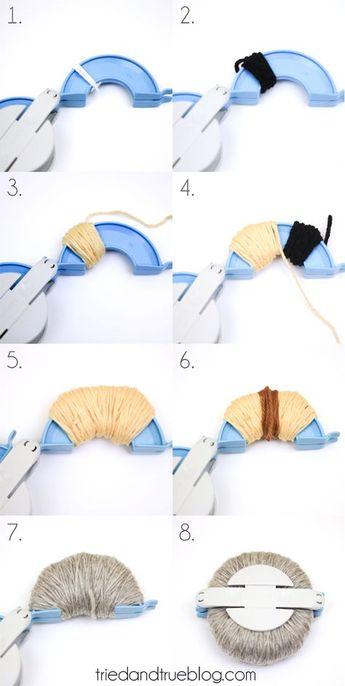 How To Make A DIY Owl Pom Pom