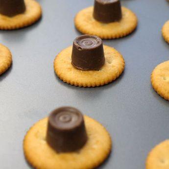 Ritz Rolo Cookies