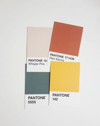 Color theory, color combinations, color inspiration, color palette, salmon, light blush, yellow, blue