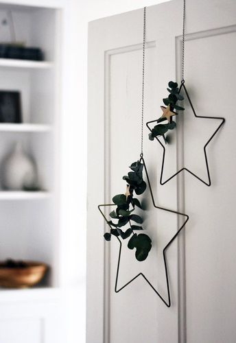 Nordic Christmas decorations with Rose & Grey