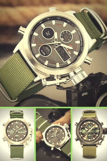 The GOLDEN HOUR Canteen Military Watch represents a milestone in tactical military watch ingenuity and engineering.  The GOLDEN HOUR Canteen Military Watch is a classic and contemporary timepiece, fully designed and developed by GOLDEN HOUR. It has become one of the most popular GOLDEN HOUR Military Watches over time, combining strength and reliability with lightweight comfort.  You demand performance from your accessories, right down to your timepiece of choice. Enjoy refined style, accurate ti